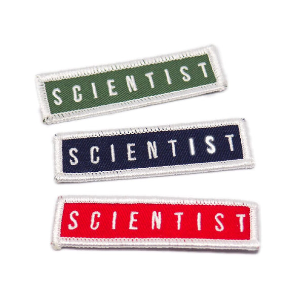 Scientist Patch - Green, Blue, or Red