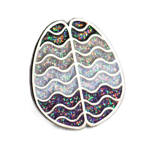 Ace Pride Brain Enamel Pin