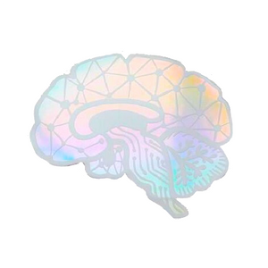 Holographic Brain Sticker