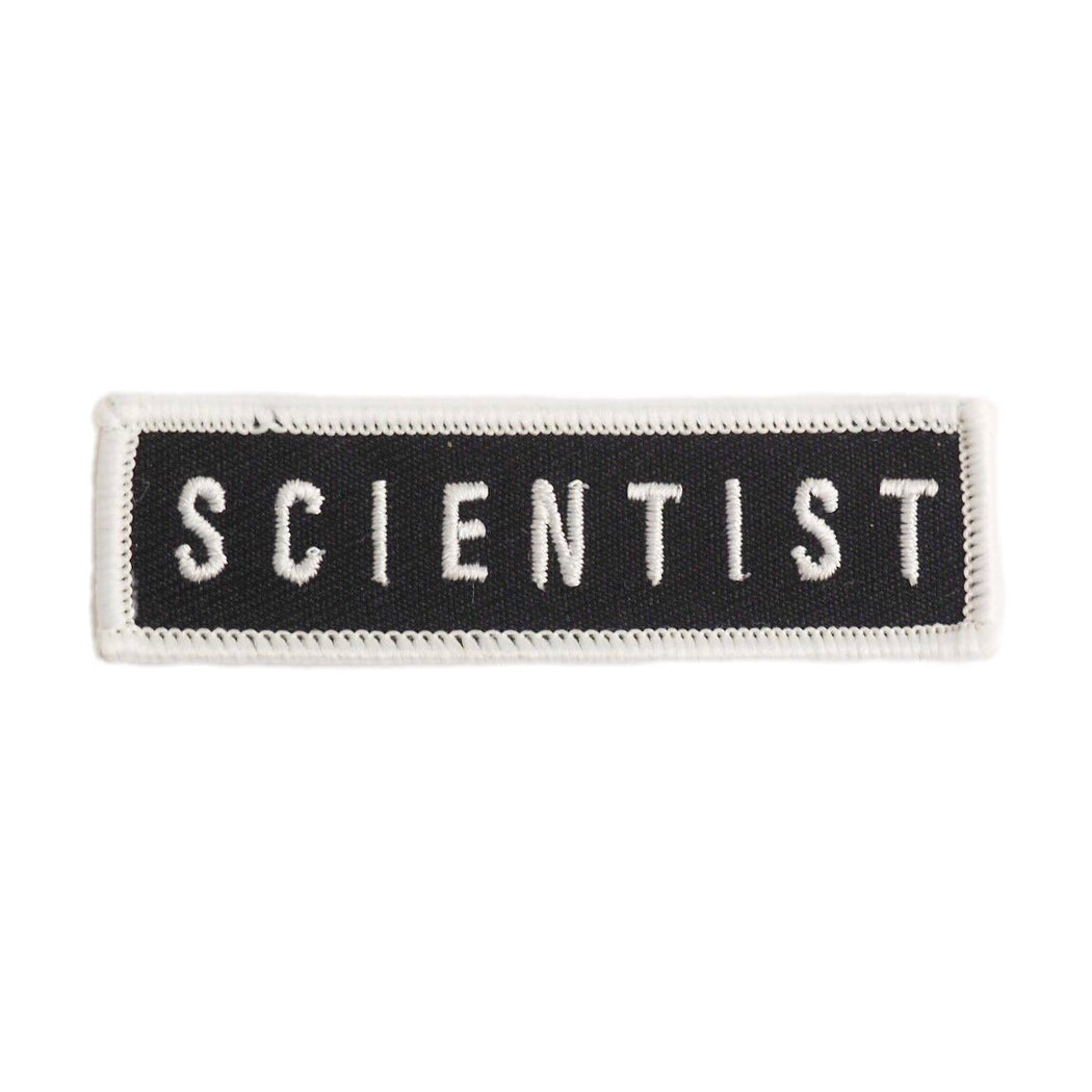 Scientist Patch - Black