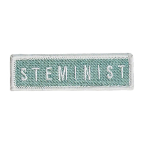 Steminist Patch - Light Green