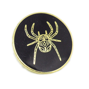 Spider Enamel Pin