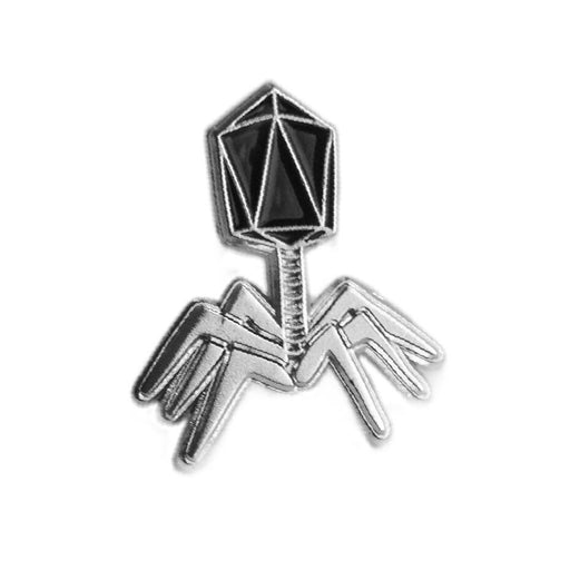 Phage Enamel Pin - Black