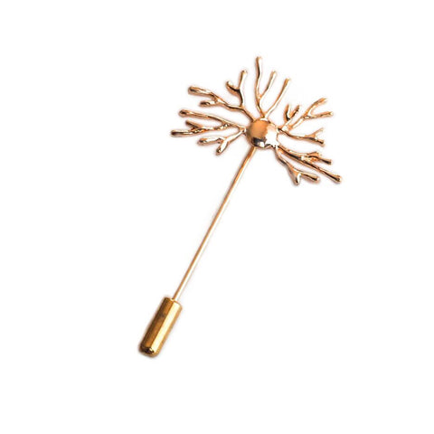 Neuron Stick Pin - Rose Gold