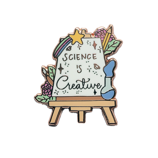 Science is Creative Pin