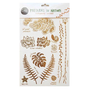 Temporary Tattoo Set - Patterns in Nature