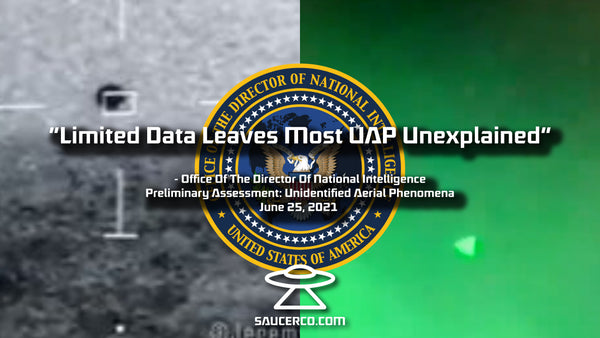 Limited Data Leaves Most UAP Unexplained
