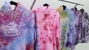 The Saucer Tie-Dye Collection - Tie-Dye Pullover Hoodies by Saucer