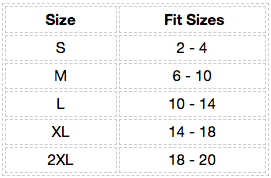 Saucer High Neck Tank Size Chart