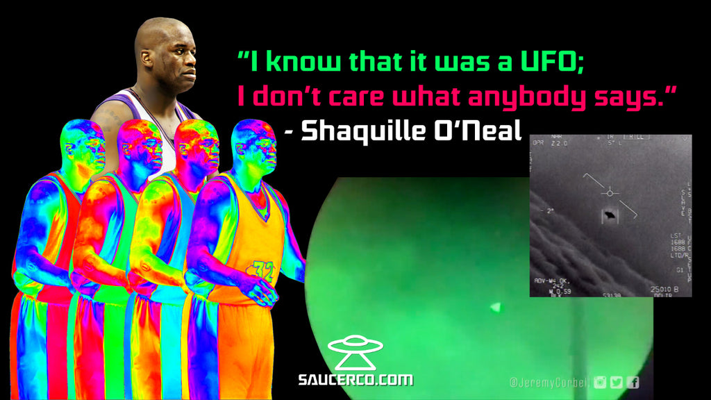 Shaquille O'Neal UFO