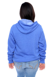 Royal Pullover Hoodie Back View