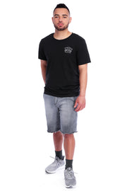 Black Triblend T-Shirt Full Model View