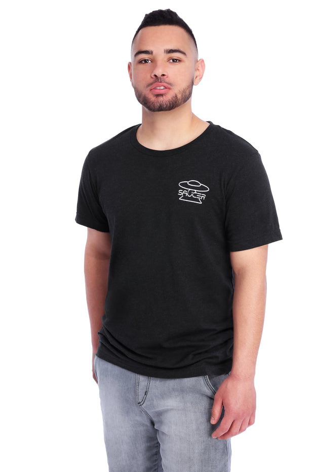 Black Triblend T-Shirt Model View