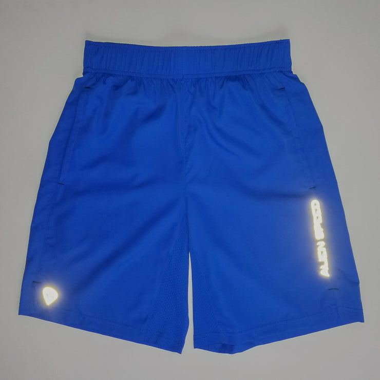 Alien Speed Blue Training Shorts (Reflective)