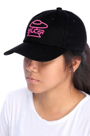 Black Legendary Classic Hats (Pink Edition) Model View
