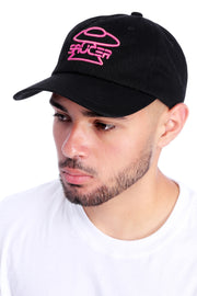 Black Legendary Classic Hat (Pink Edition) Model View