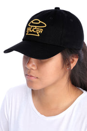 Black Legendary Classic Hat (Gold Edition) Model View