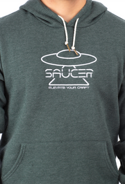 Saucer Pullover Hoodie (Reflective Drawstring)