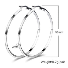 Load image into Gallery viewer, Earrings -Modern design in  big circle shape