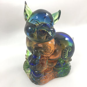 "Amore Jewell Liuli Crystal Glass - Pig  (the last animal of the Chinese Zodiac) ~ 12生肖""豬"""