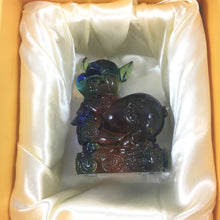 "Load image into Gallery viewer, Amore Jewell Liuli Crystal Glass - Pig  (the last animal of the Chinese Zodiac) ~ 12生肖""豬"""