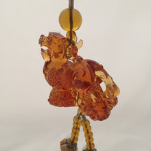 Load image into Gallery viewer, Amore Jewell Liuli Crystal Glass - Auspicious Chinese Spirit Beast for car hanging ornament