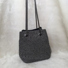 Load image into Gallery viewer, Fashion Ladies' bag - Diammante Rhinestone Clutch in Black color
