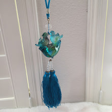 Load image into Gallery viewer, Liuli Crystal Glass - Forever Love & Happiness  for car hanging ornament