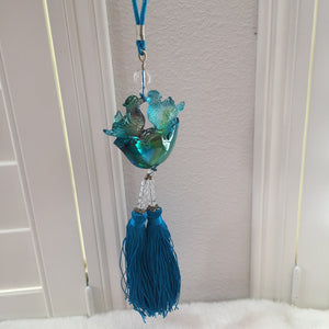 Liuli Crystal Glass - Forever Love & Happiness  for car hanging ornament