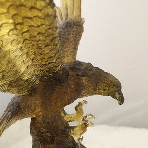 Amore Jewell Liuli Crystal Glass - Flying Eagle ~ 大鵬展翅老鷹