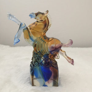Amore Jewell Liuli Crystal Glass - New Soaring aspirations Horse ~新壯志凌雲馬