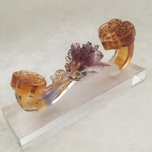 Load image into Gallery viewer, Amore Jewell Liuli Crystal Glass - Riches & Honour Ru-Yi ~ 富貴如意