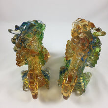 Load image into Gallery viewer, Amore Jewell Liuli Crystal Glass - New  Lucky Blessing Kirin Pair ~ 招財麒麟對