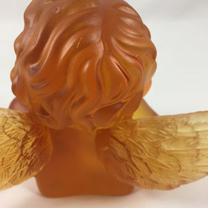 Amore Jewell Liuli Crystal Glass - Lovely Angel in Amber color ~ 天使