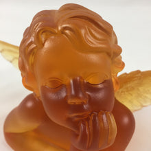 Load image into Gallery viewer, Amore Jewell Liuli Crystal Glass - Lovely Angel in Amber color ~ 天使