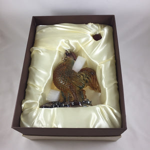Amore Jewell Liuli Crystal Glass - Grant Wealth  & Fortune Rooster ~ 發財雞
