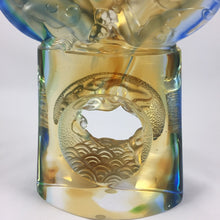 Load image into Gallery viewer, Amore Jewell Liuli Crystal Glass - Twin-Dragon flying in the sky ~ 飛龍在天