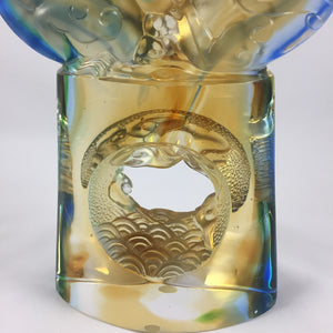 Amore Jewell Liuli Crystal Glass - Twin-Dragon flying in the sky ~ 飛龍在天