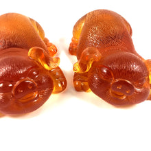 Load image into Gallery viewer, Liuli Crystal Glass - Happiness Pig pair ~ 2pcs/set