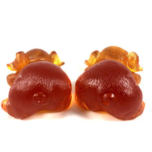 Load image into Gallery viewer, Amore Jewell Liuli Crystal Glass - Happiness Pig pair ~ 2pcs/set ~ 福豬對