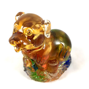 "Amore Jewell Liuli Crystal Glass - New Dog  (the eleventh animal of the Chinese Zodiac) ~ 12生肖 ""狗"""