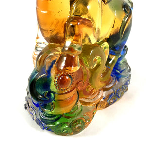 "Amore Jewell Liuli Crystal Glass - New Ox  (the second animal of the Chinese Zodiac) ~ 12生肖 ""牛"""