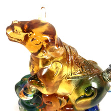 "Load image into Gallery viewer, Amore Jewell Liuli Crystal Glass - New Ox  (the second animal of the Chinese Zodiac) ~ 12生肖 ""牛"""