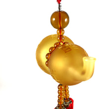 Load image into Gallery viewer, Amore Jewell Liuli Crystal Glass - Gourd bring Blessing and Wealth for car hanging ornament