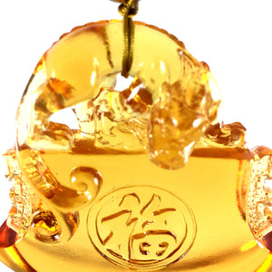 Amore Jewell Liuli Crystal Glass - PiXu bring the happiness as high as the heaven for car hanging ornament ~ 鴻福齊天