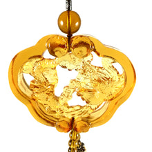 Load image into Gallery viewer, Amore Jewell Liuli Crystal Glass - Dragon & Phoenix in good fate for car hanging ornament