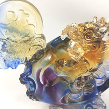 Load image into Gallery viewer, Amore Jewell Liuli Crystal Glass - Dragon Blessing ~ 鴻福避邪