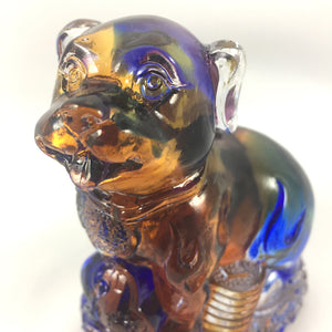 "Amore Jewell Liuli Crystal Glass - Dog  (the eleventh animal of the Chinese Zodiac) ~12生肖""狗"""