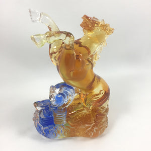 "Amore Jewell Liuli Crystal Glass - Horse  (the seventh animal of the Chinese Zodiac) ~12生肖""馬"""