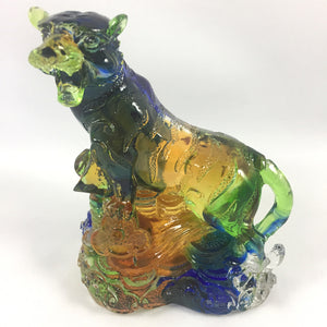 "Amore Jewell Liuli Crystal Glass - Tiger  (the third animal of the Chinese Zodiac) ~12生肖""虎"""